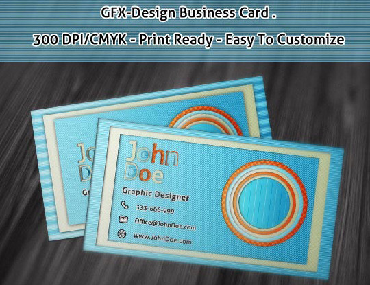 50 Free Photoshop Business Card Templates 8