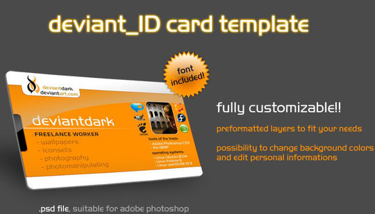 50 Free Photoshop Business Card Templates 22