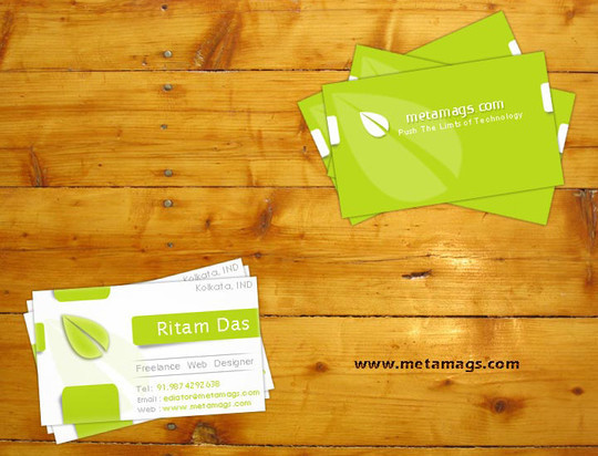 50 Free Photoshop Business Card Templates 23