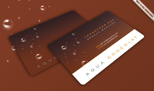 50 Free Photoshop Business Card Templates 24