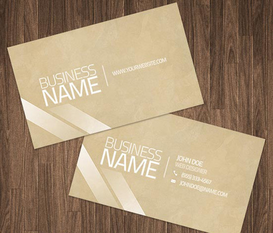 50 Free Photoshop Business Card Templates 26