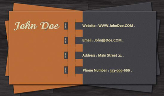 50 Free Photoshop Business Card Templates 28