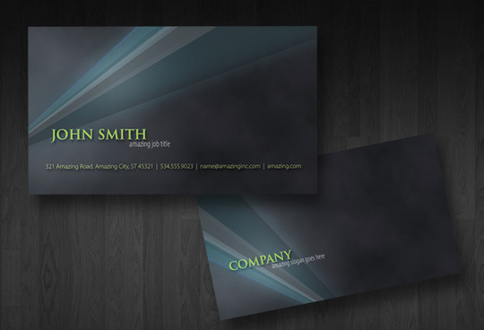 50 Free Photoshop Business Card Templates 9