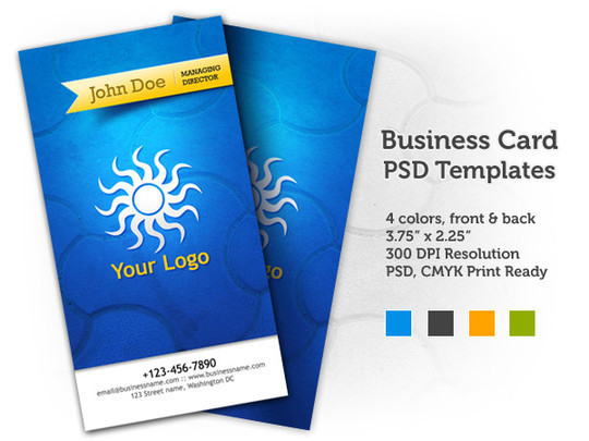 50 Free Photoshop Business Card Templates 32
