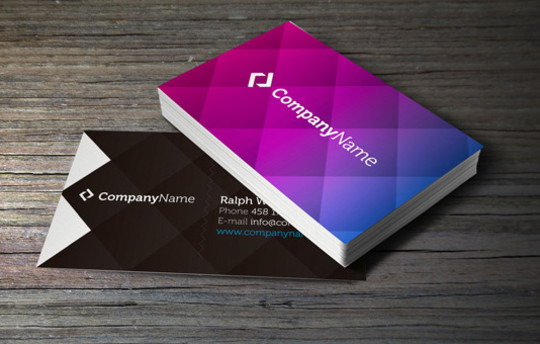 50 Free Photoshop Business Card Templates 35