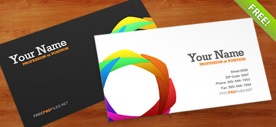 50 Free Photoshop Business Card Templates 39
