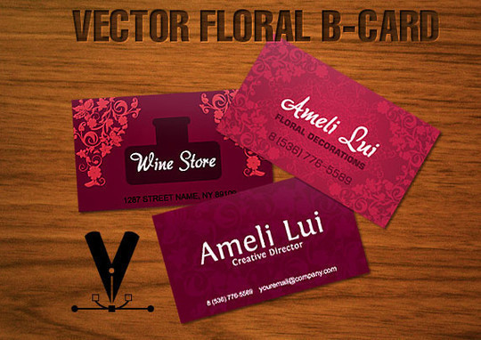 50 Free Photoshop Business Card Templates 40