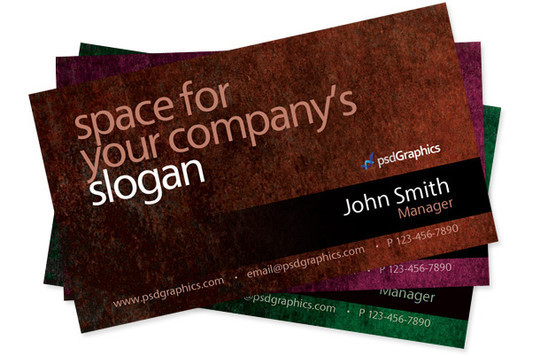 50 Free Photoshop Business Card Templates 41