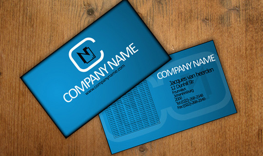 50 Free Photoshop Business Card Templates 10