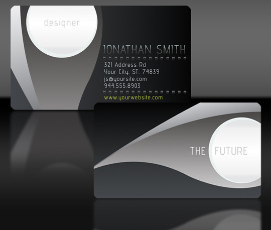 50 Free Photoshop Business Card Templates 43