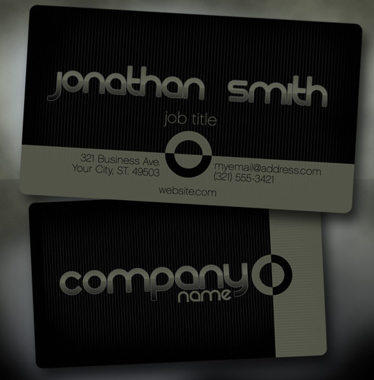 50 Free Photoshop Business Card Templates 44