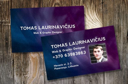 50 Free Photoshop Business Card Templates 14