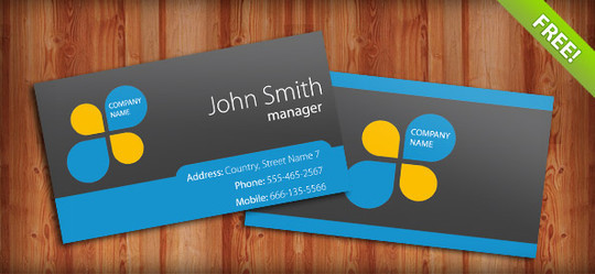 50 Free Photoshop Business Card Templates 45