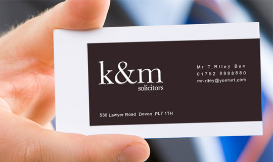 50 Free Photoshop Business Card Templates 49