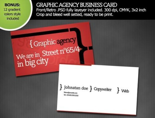 50 Free Photoshop Business Card Templates 50