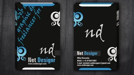 50 Free Photoshop Business Card Templates 7