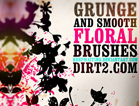 16 Free High Quality Floral Photoshop Brush Sets 2