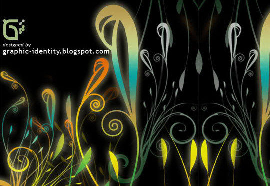 16 Free High Quality Floral Photoshop Brush Sets 4