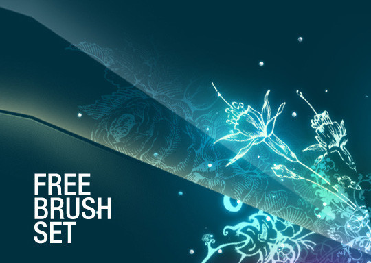 16 Free High Quality Floral Photoshop Brush Sets 7