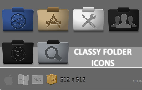 15 Useful And Free High Quality Folder Icon Sets 5