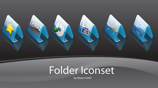 15 Useful And Free High Quality Folder Icon Sets 2