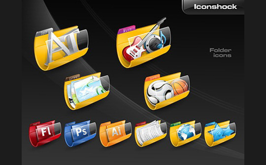 15 Useful And Free High Quality Folder Icon Sets 13