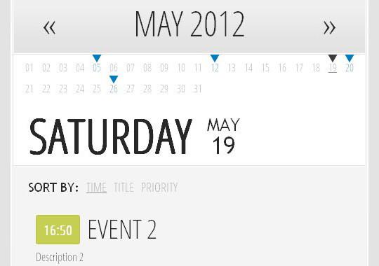 15 jQuery Calendar Date Picker Plugins 15