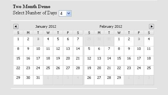 15 jQuery Calendar Date Picker Plugins 42