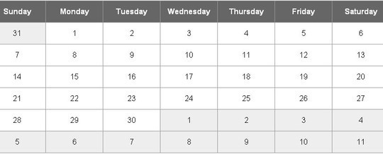 15 jQuery Calendar Date Picker Plugins 8