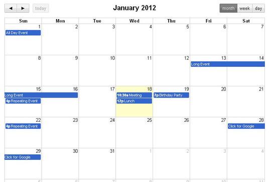 15 jQuery Calendar Date Picker Plugins 5