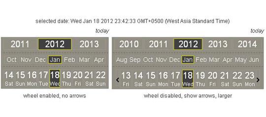 15 jQuery Calendar Date Picker Plugins 9