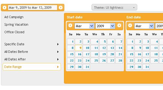 15 jQuery Calendar Date Picker Plugins 2