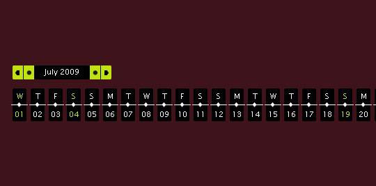 15 jQuery Calendar Date Picker Plugins 3