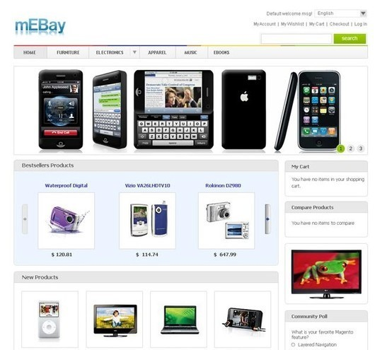 15 Best Magento Themes For eCommerce Websites 5