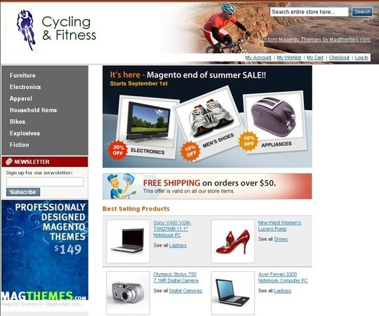 15 Best Magento Themes For eCommerce Websites 13