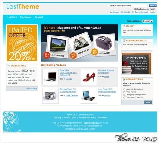 15 Best Magento Themes For eCommerce Websites 14
