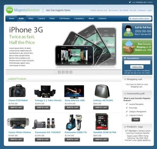 15 Best Magento Themes For eCommerce Websites 7