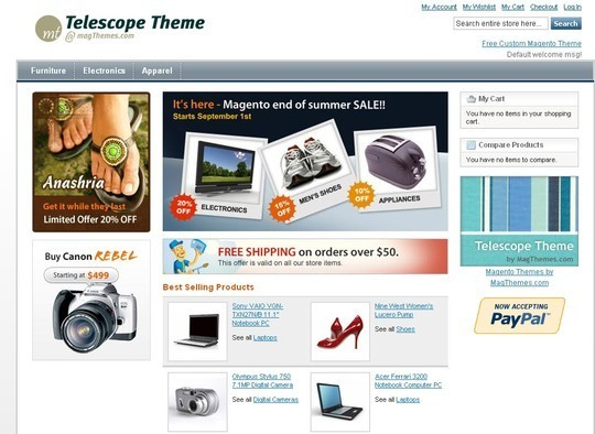 15 Best Magento Themes For eCommerce Websites 8