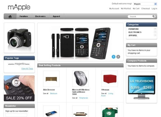 15 Best Magento Themes For eCommerce Websites 11