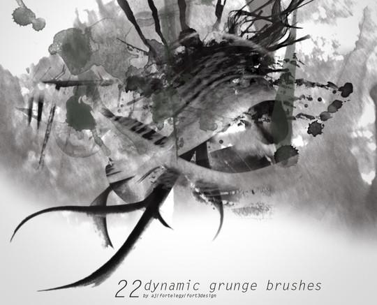 30 Free And Fresh Photoshop Brush Sets 3