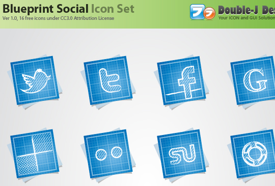 Vibrant Collection Of Fresh And Free Social Media Icon Sets 8