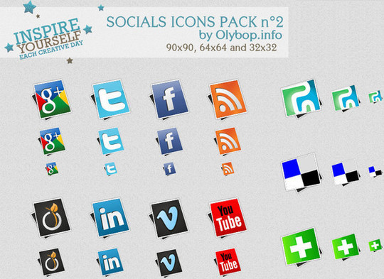 Vibrant Collection Of Fresh And Free Social Media Icon Sets 25