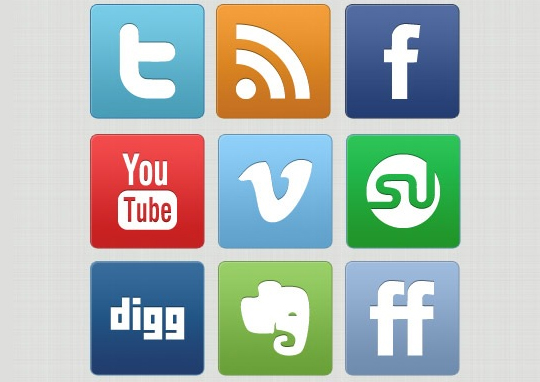 Vibrant Collection Of Fresh And Free Social Media Icon Sets 26