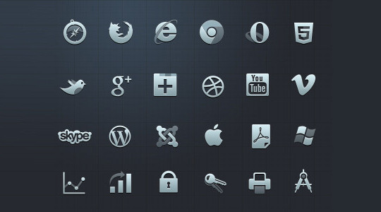 Vibrant Collection Of Fresh And Free Social Media Icon Sets 27