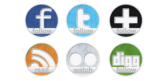 Vibrant Collection Of Fresh And Free Social Media Icon Sets 30