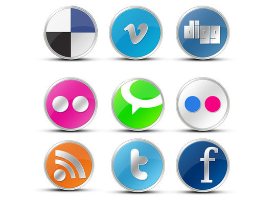 Vibrant Collection Of Fresh And Free Social Media Icon Sets 36