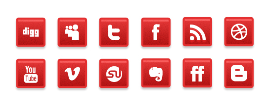 Vibrant Collection Of Fresh And Free Social Media Icon Sets 7