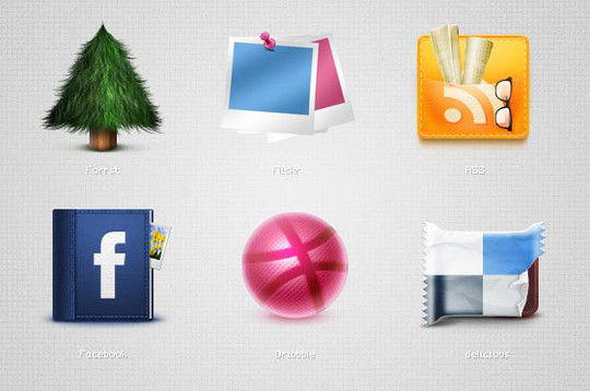 Vibrant Collection Of Fresh And Free Social Media Icon Sets 32