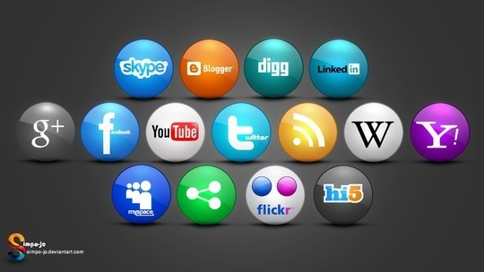 Vibrant Collection Of Fresh And Free Social Media Icon Sets 33