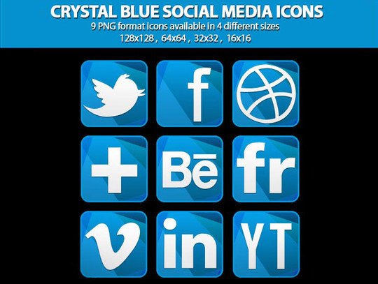 Vibrant Collection Of Fresh And Free Social Media Icon Sets 39
